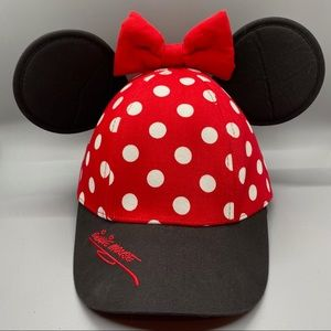 Authentic Disney Parks Youth Minnie Mouse Hat